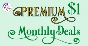 Premium $1 Monthly Deals
